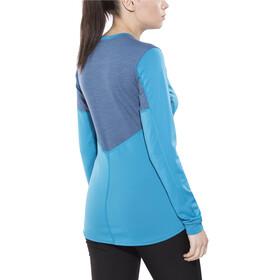 Norrøna Falketind Super Wool Shirt Women Blue Moon